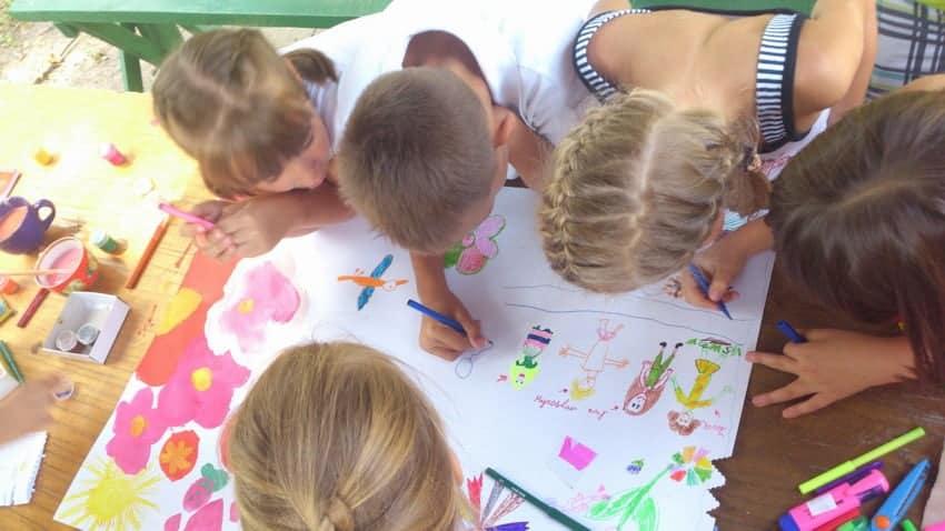 Дитячий табір під Харковом