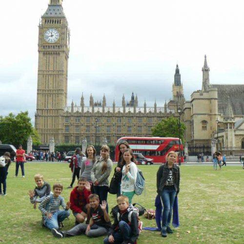 Дитячий табір в Англії