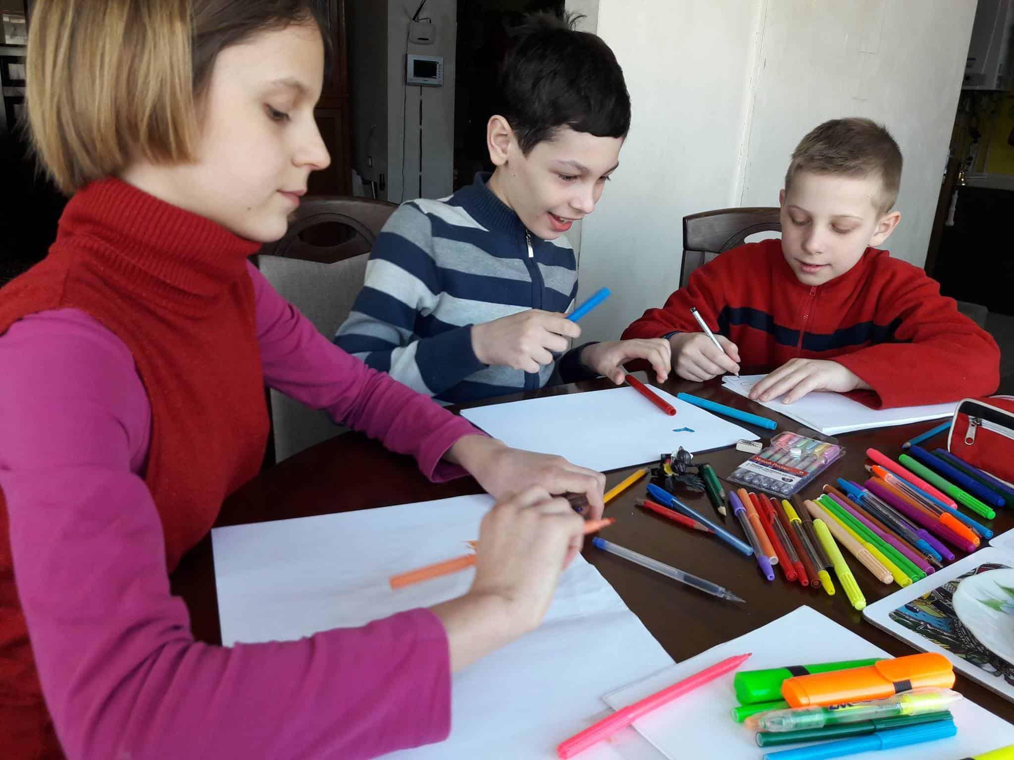 Дитячий табір в Харкові